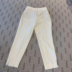 White Zara Suit Pants Trousers